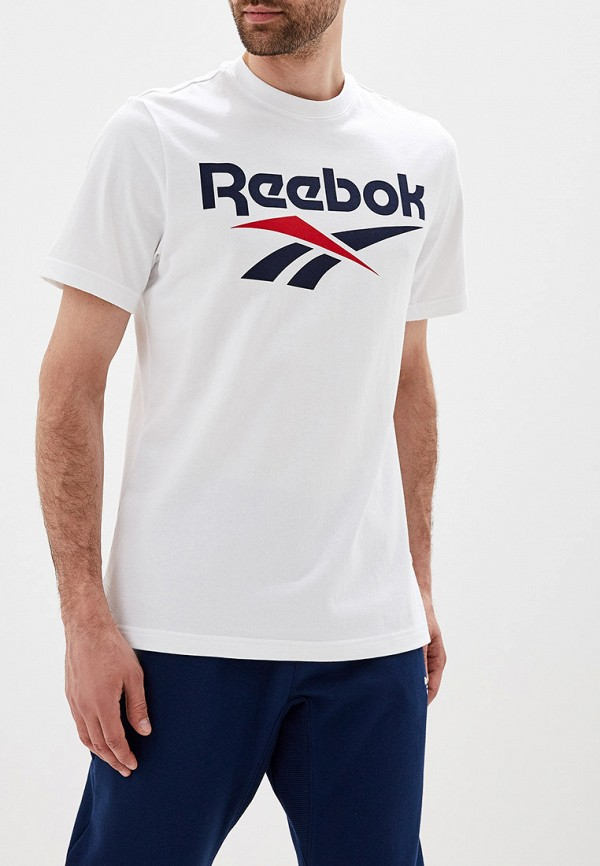 Фото - мужскую футболку Reebok Classics белого цвета