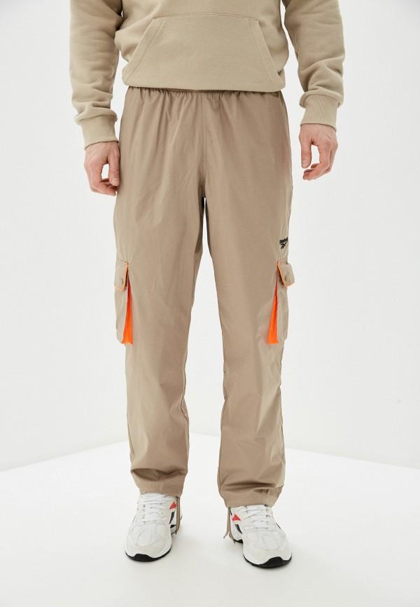 мужские брюки reebok, бежевые