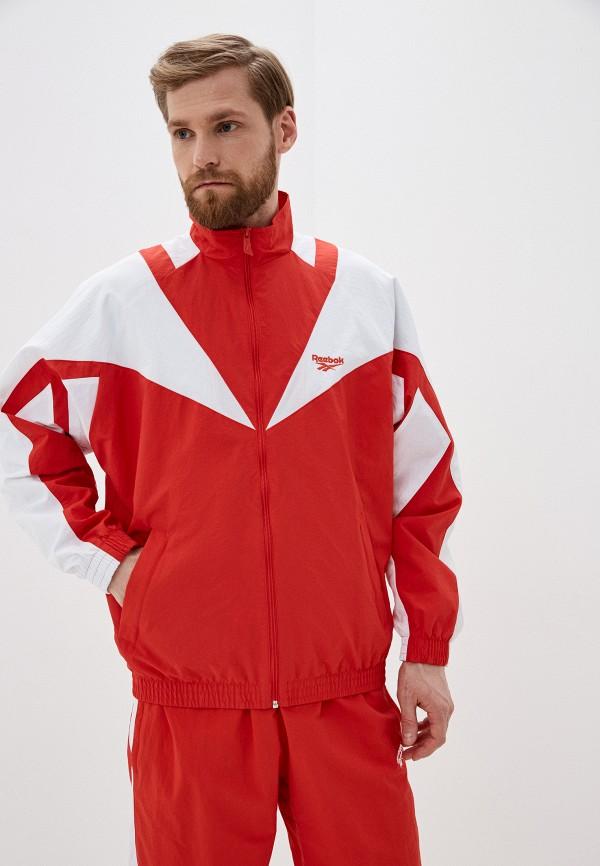 мужская олимпийка reebok classic, красная