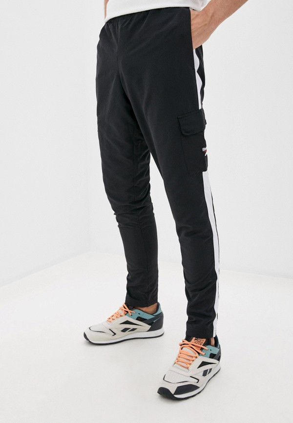 мужские брюки reebok classic, черные