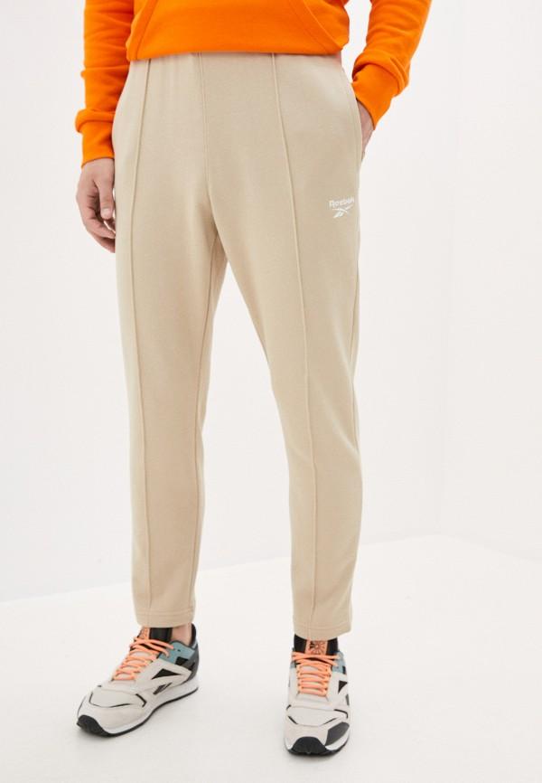 мужские спортивные брюки reebok classic, бежевые