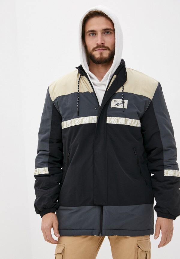 мужская куртка reebok classic, разноцветная