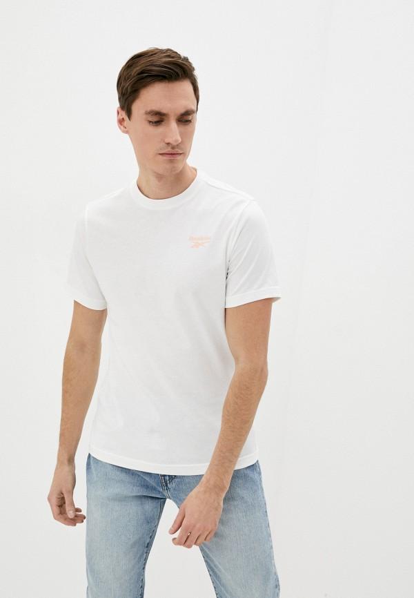 мужская спортивные футболка reebok classic, белая