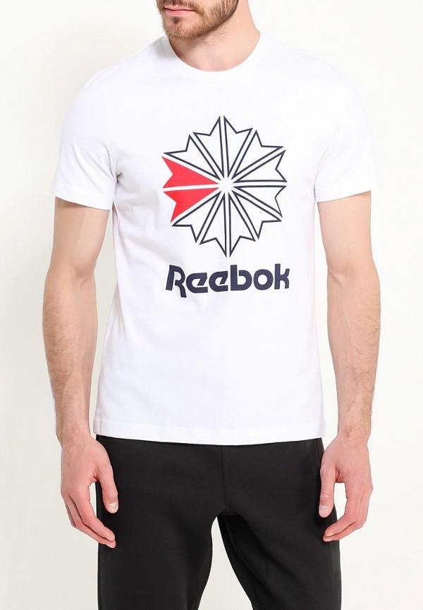 Футболка Reebok Classics Reebok Classics RE005EMUOT49 spectral classics pl151 bg 2 boxes