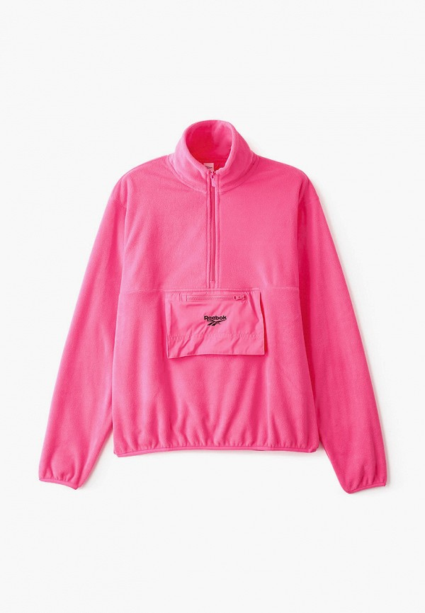 женская олимпийка reebok, розовая