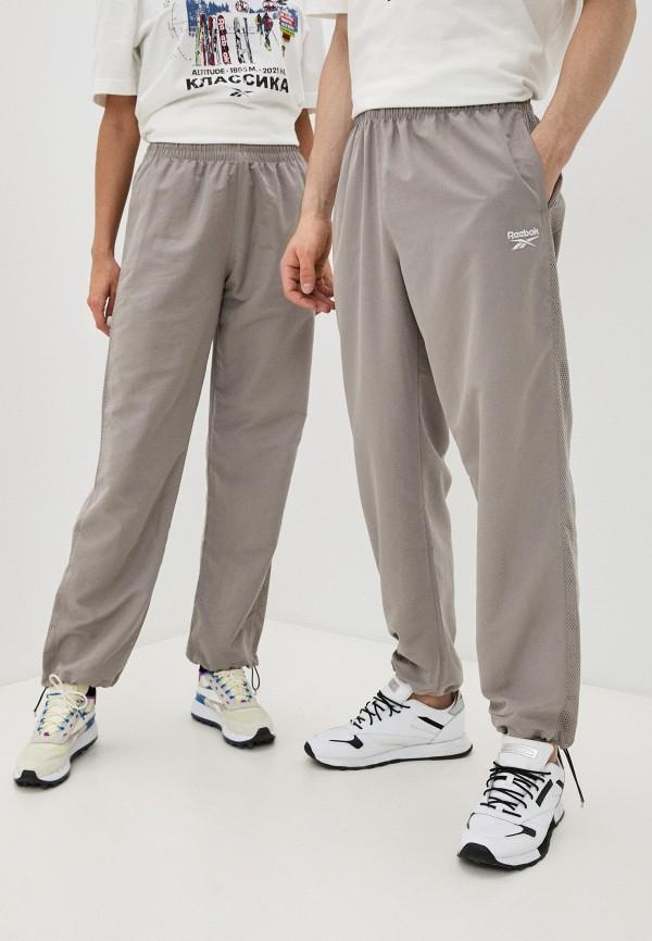 женские спортивные брюки reebok classic, бежевые