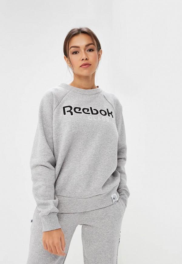 Свитшот Reebok Classics Reebok Classics RE005EWCDKT5 reebok classics f archive stripe tee prin
