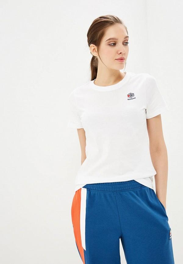 женская футболка reebok, белая