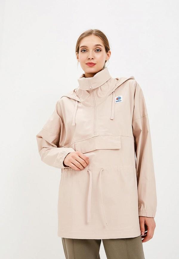 Купить Куртка Reebok Classics, ES ANORAK, RE005EWCDKW2, бежевый, Осень-зима 2018/2019