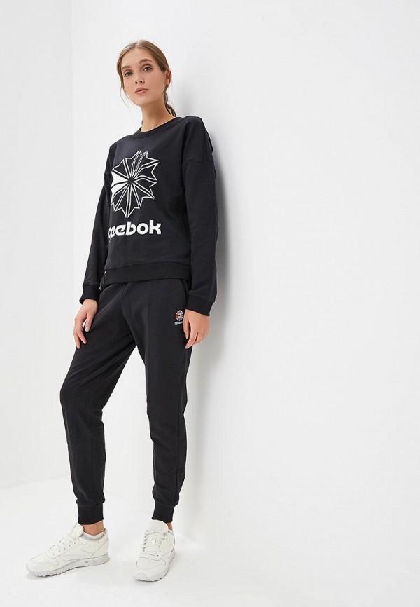 Фото 2 - Свитшот Reebok Classics черного цвета