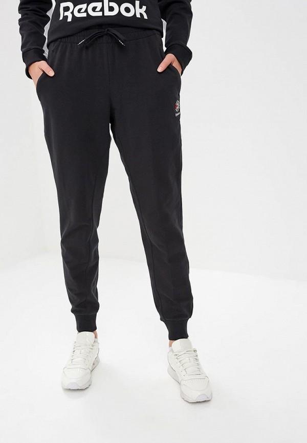 женские утепленные брюки reebok, черные