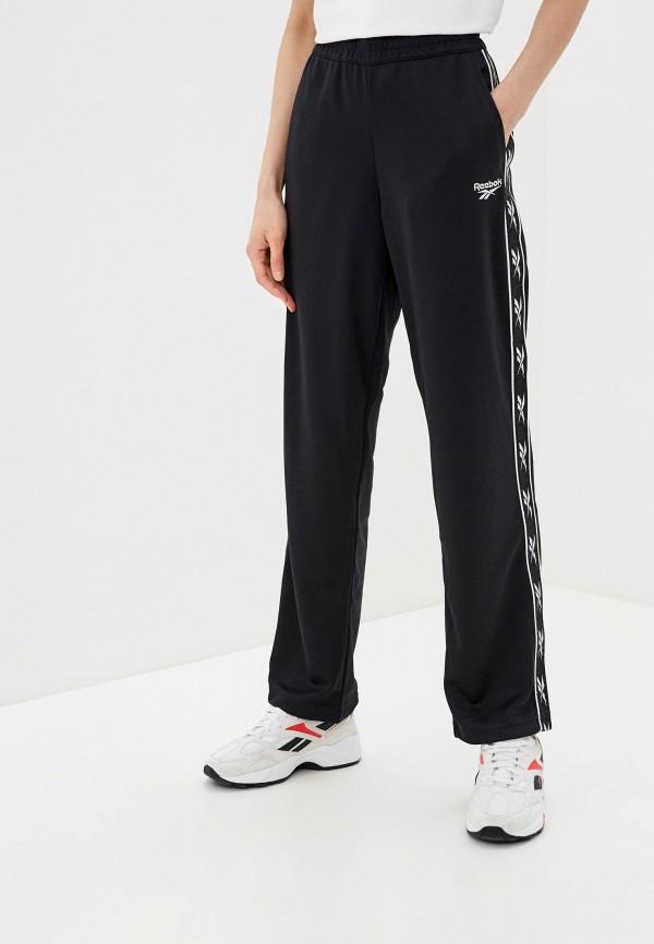 женские спортивные брюки reebok classic, черные