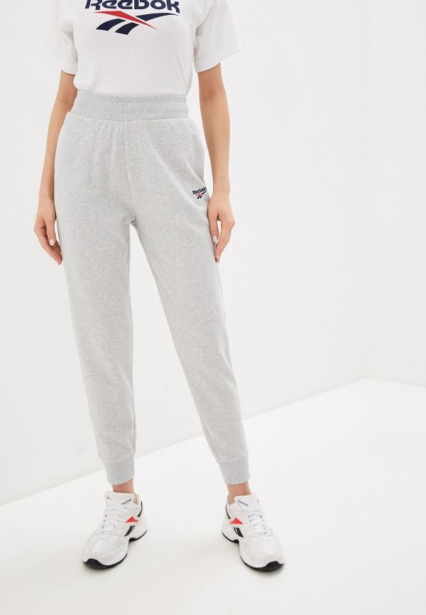 женские спортивные брюки reebok classic, серые