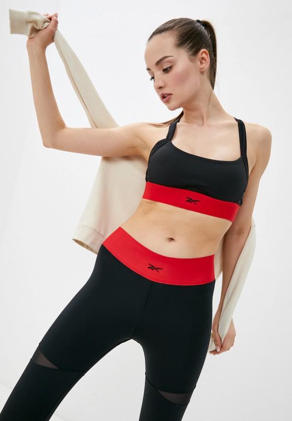 женский спортивный костюм reebok classic, черный