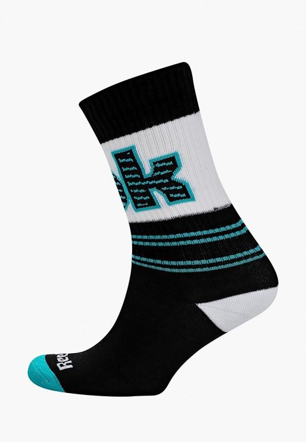 Купить Носки Reebok Classics, CL Basketball Crew sock, re005fueesz3, черный, Весна-лето 2019