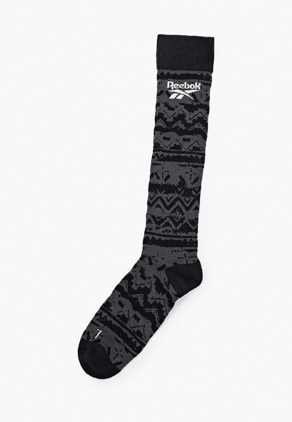 женские носки reebok classic, серые