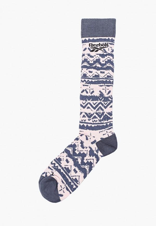 женские носки reebok classic, синие