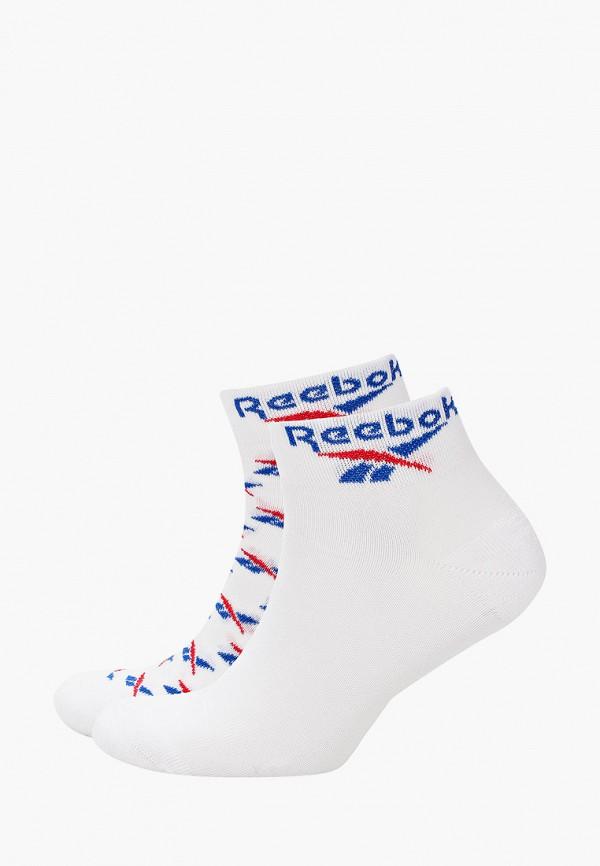 женские носки reebok classic, белые