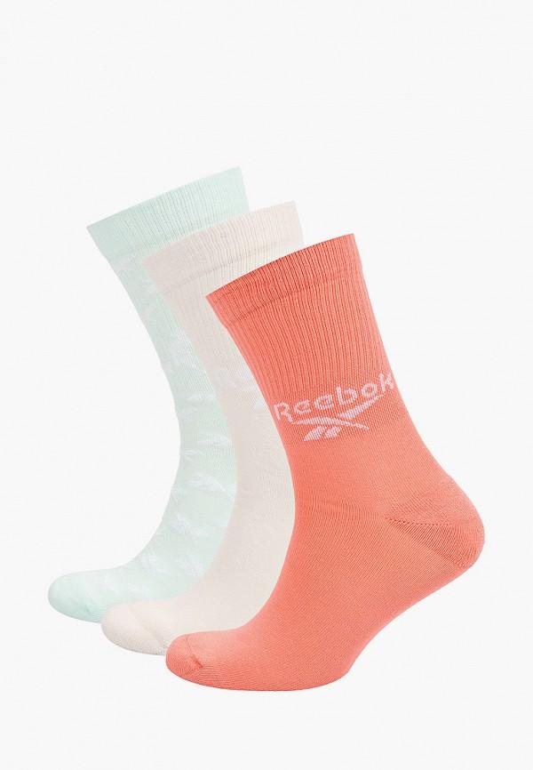 женские носки reebok classic, разноцветные