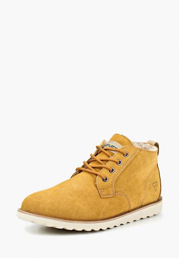 мужские высокие ботинки reflex, коричневые