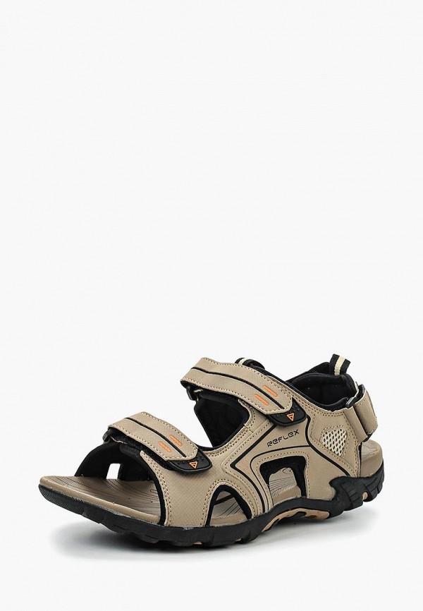 мужские сандалии reflex, бежевые