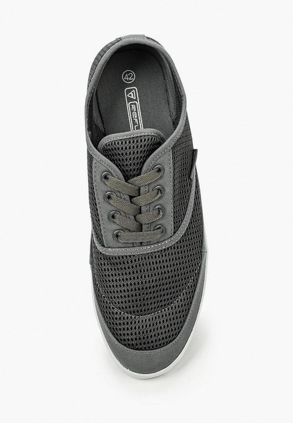 Фото 4 - мужские кеды Reflex серого цвета