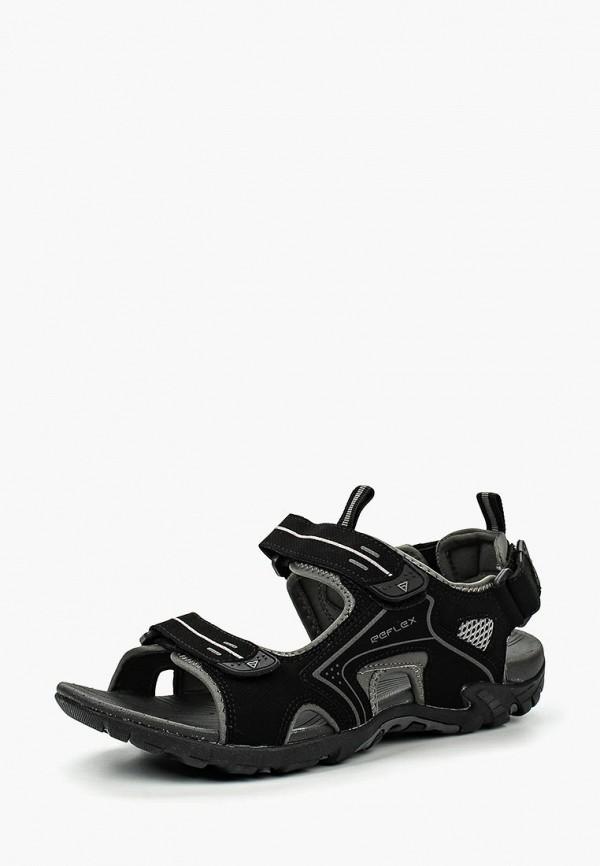 мужские сандалии reflex, черные