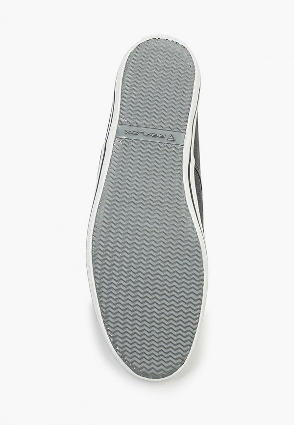 Фото 3 - мужские кеды Reflex серого цвета