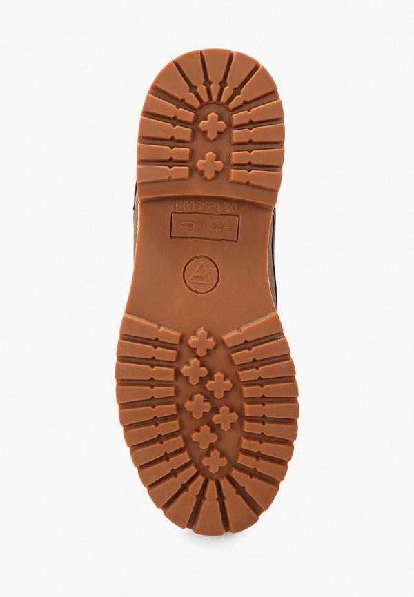Фото 3 - мужские ботинки и полуботинки Reflex коричневого цвета