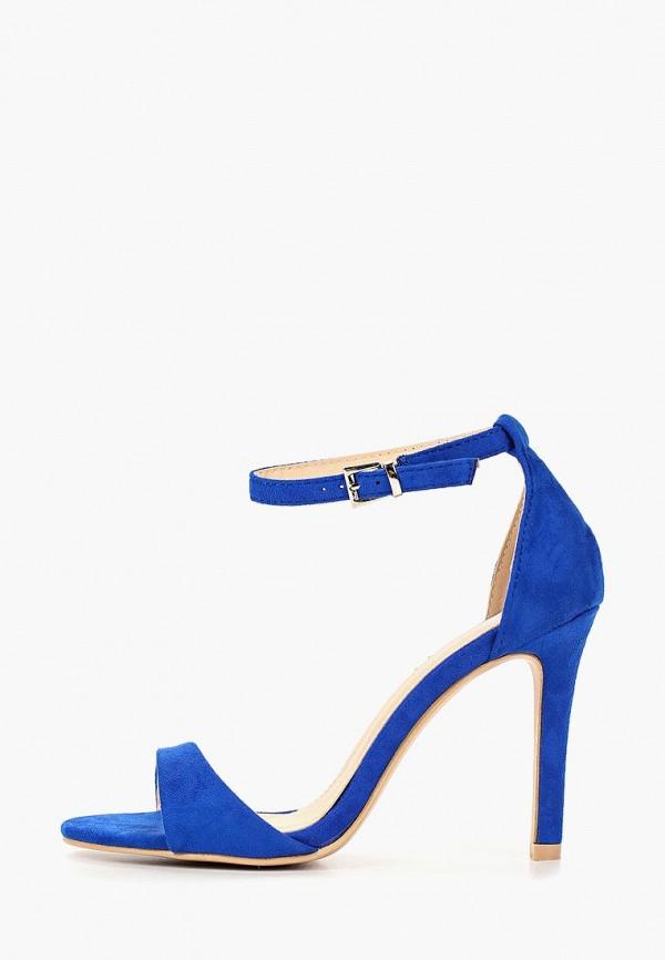 женские босоножки renda, синие