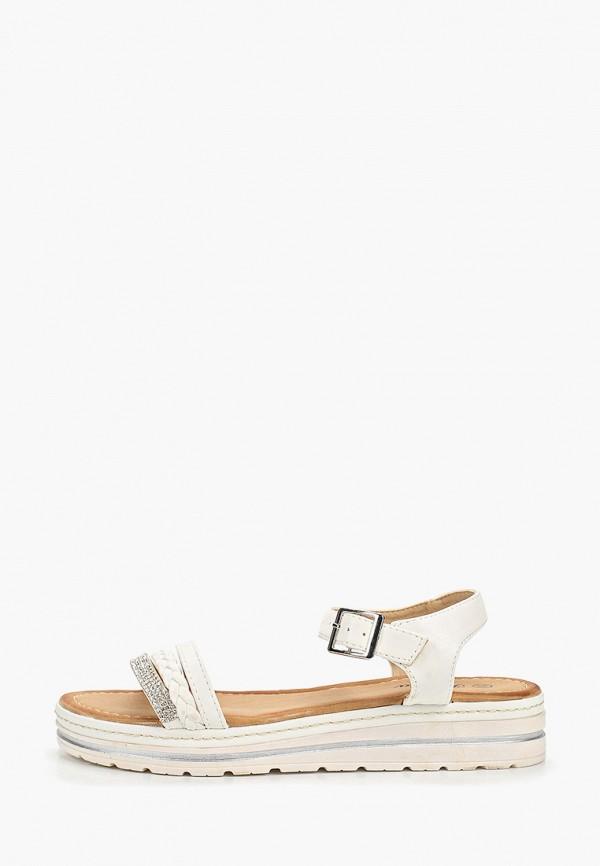 женские сандалии renda, белые