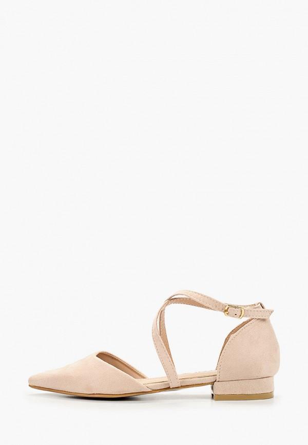 женские туфли renda, бежевые