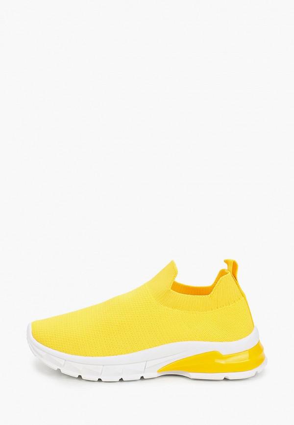 женские кроссовки renda, желтые