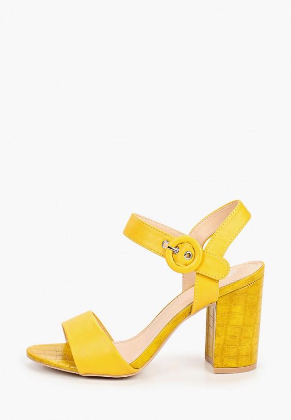 женские босоножки renda, желтые