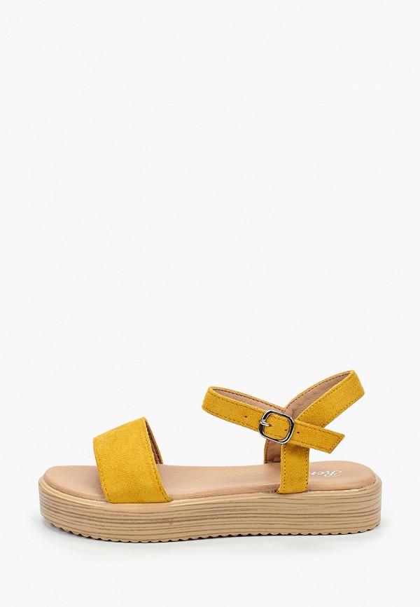 женские сандалии renda, желтые