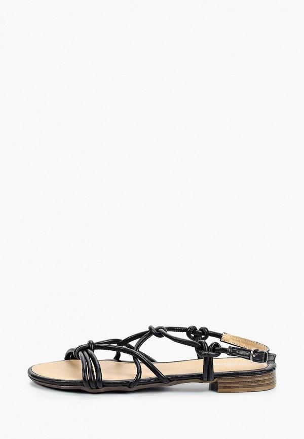 женские сандалии renda, черные