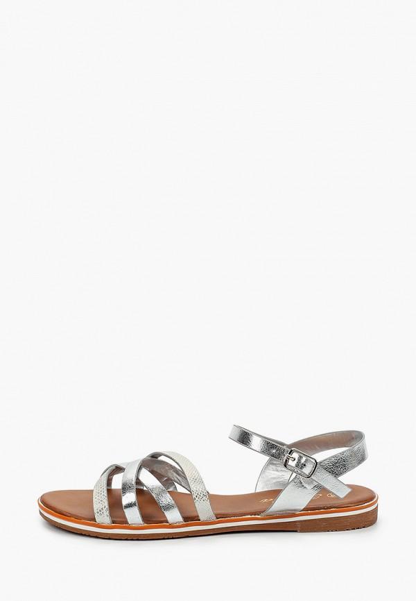 женские сандалии renda, серебряные
