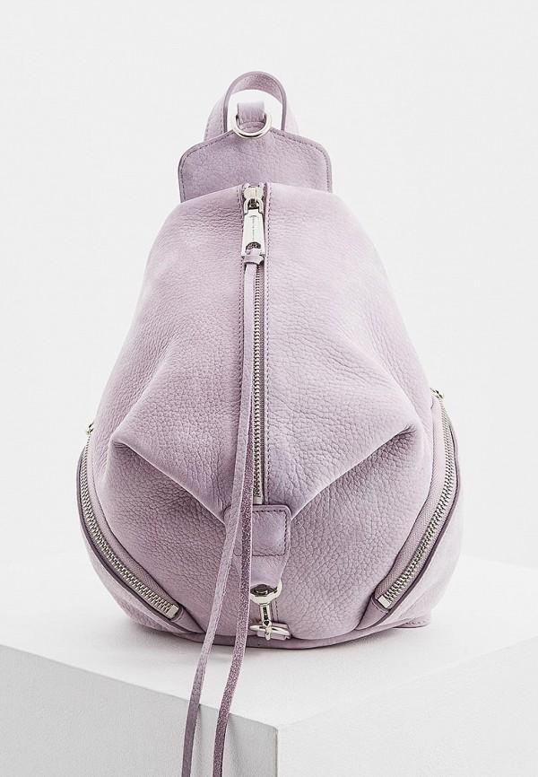женский рюкзак rebecca minkoff, фиолетовый