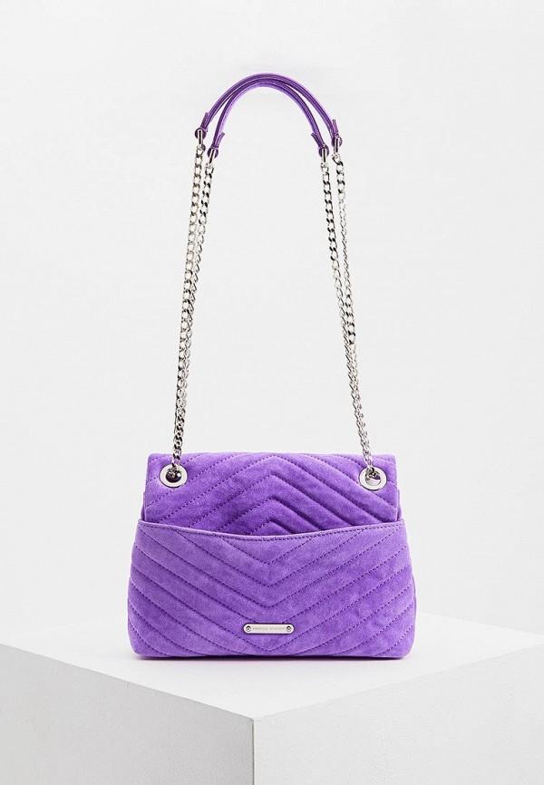 Сумка через плечо  - фиолетовый цвет