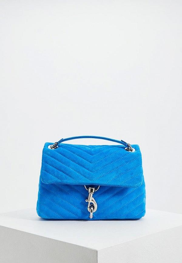 Сумка через плечо  - голубой цвет