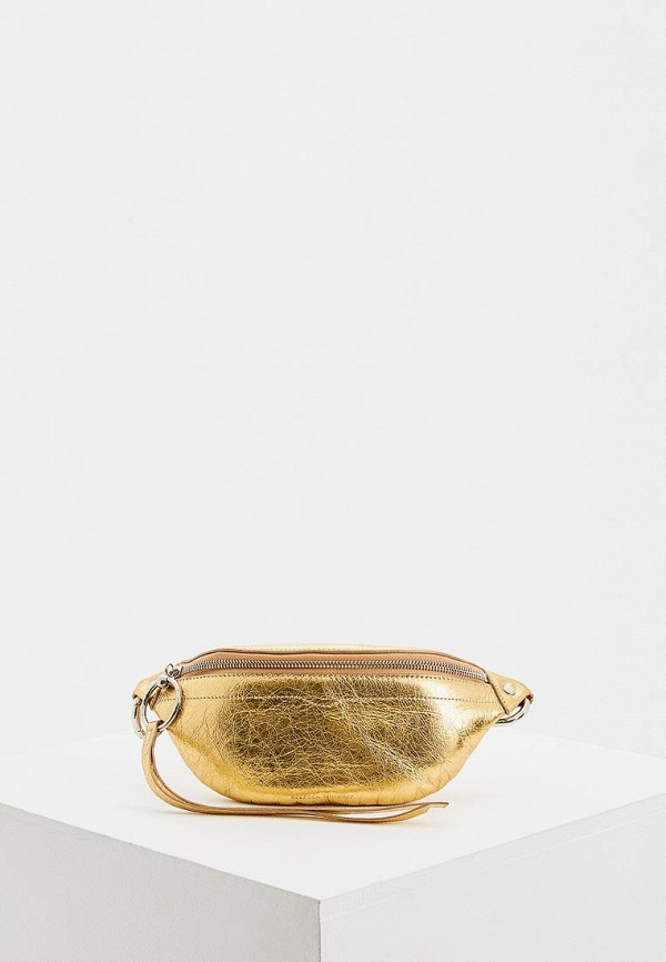 женская сумка rebecca minkoff, золотая
