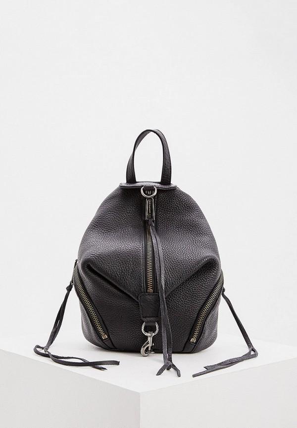 женский рюкзак rebecca minkoff, черный