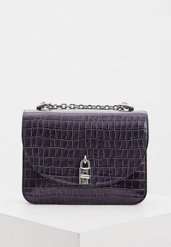 женская сумка через плечо rebecca minkoff, синяя
