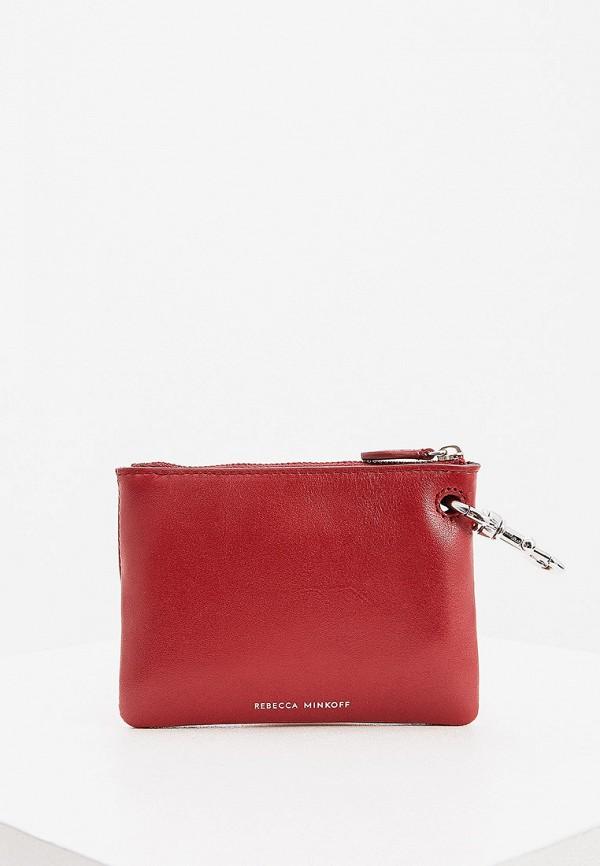 женский кошелёк rebecca minkoff, бордовый
