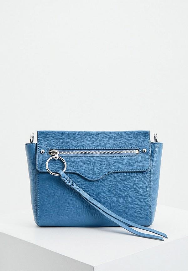 женская сумка rebecca minkoff, голубая
