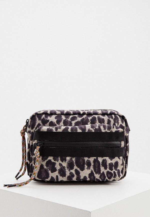 женская сумка rebecca minkoff, коричневая