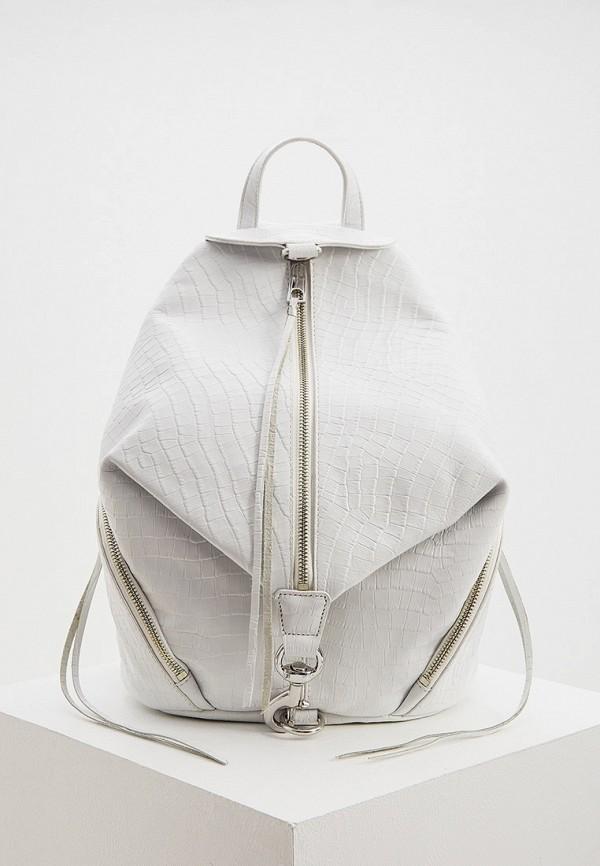 женский рюкзак rebecca minkoff, белый