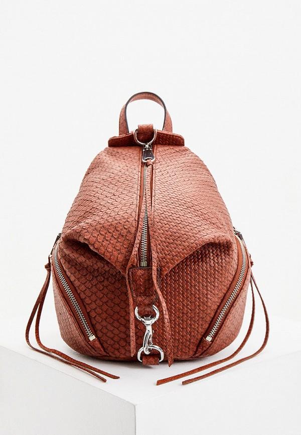женский рюкзак rebecca minkoff, коричневый