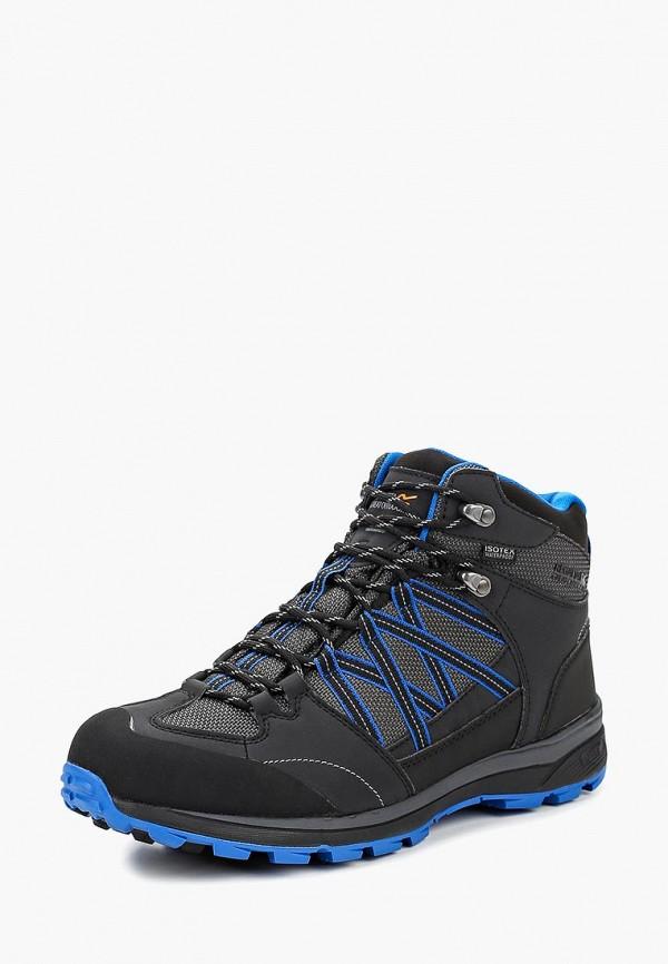 мужские ботинки regatta, черные