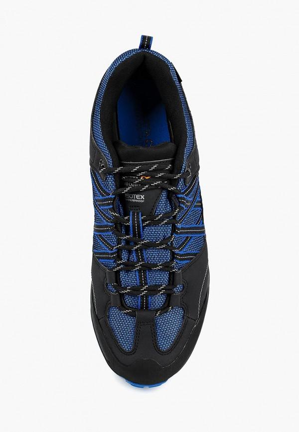 Фото 4 - Ботинки трекинговые Regatta синего цвета